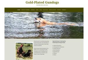 goldplatedgundogs-web-site-example