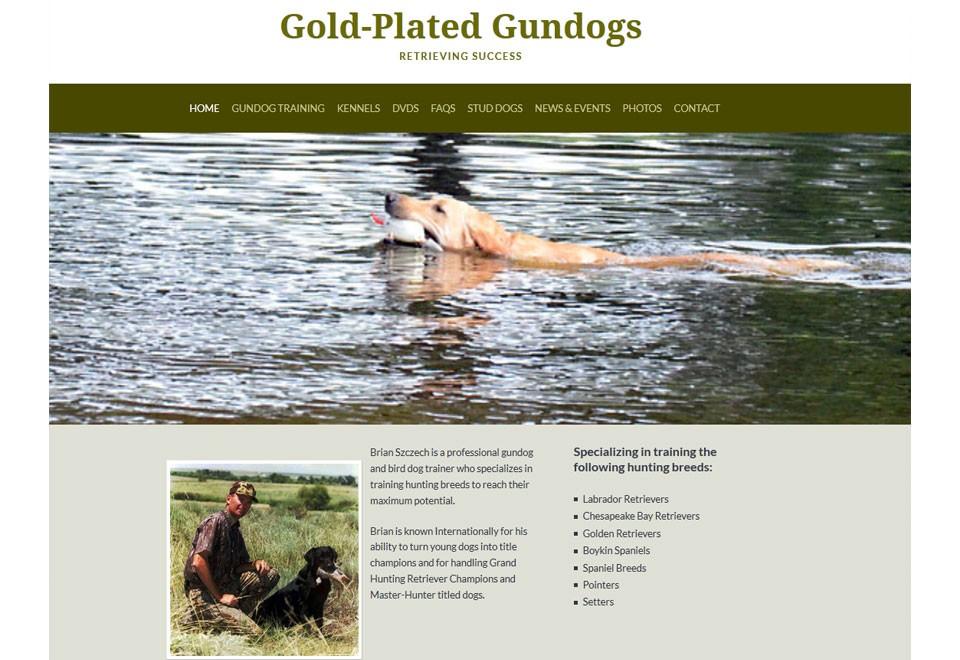 Gold-Plated Gundogs - www.goldplatedgundogs.com