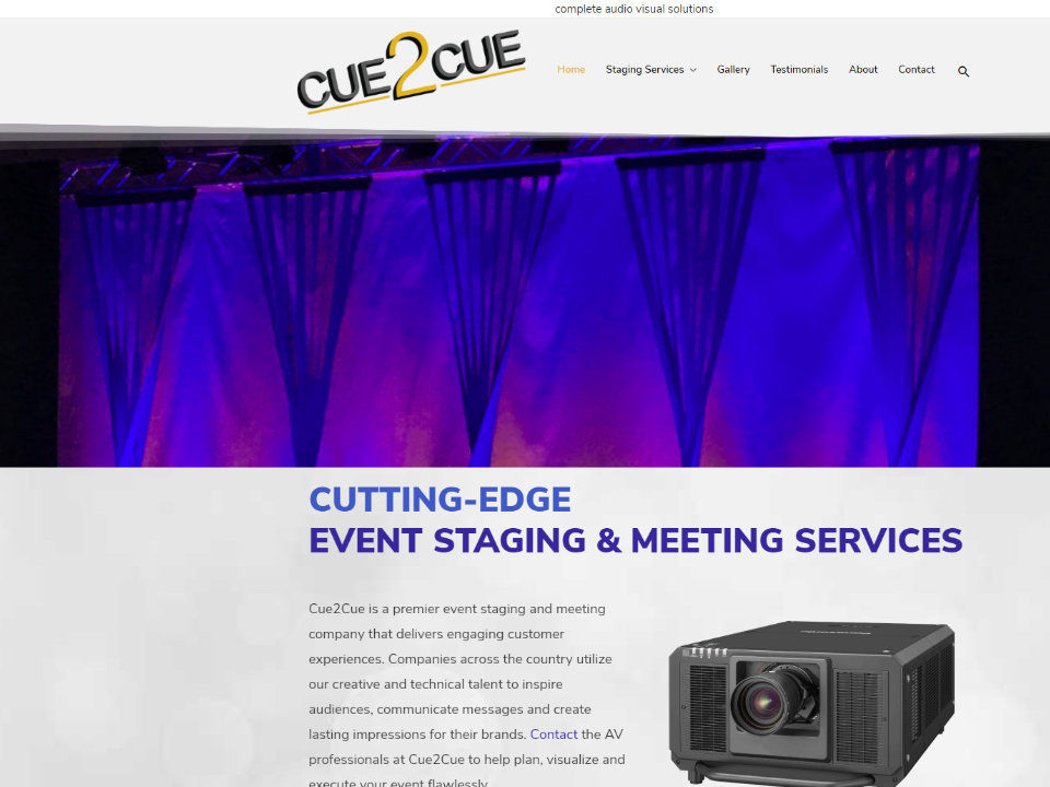 Cue2CueAV - Complete Audio Visual Solutions